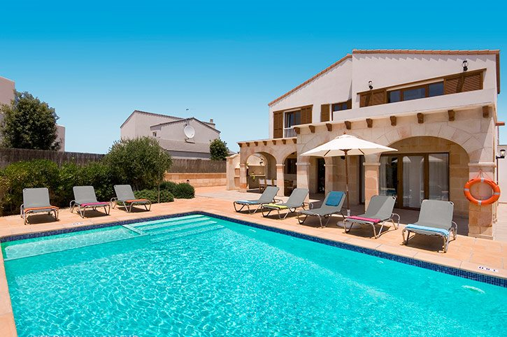 Villa Candela, Calan Forcat, Menorca, Spain