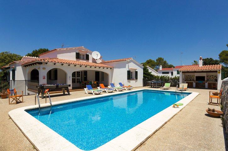 Villa C'an Toni, Cala Galdana, Menorca, Spain