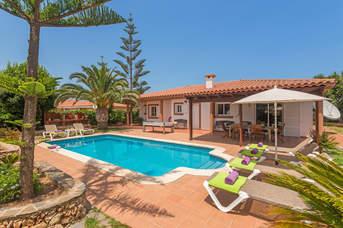 Villa Capricorn, Punta Prima, Menorca, Spain