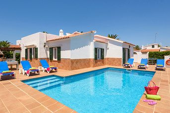 Villa Carianne, Cala Blanca, Menorca, Spain