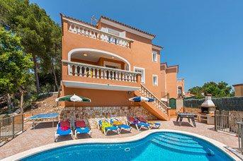 Villa Carmen Galdana, Cala Galdana, Menorca, Spain