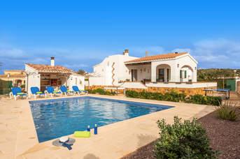Villa Catalina Forcat, Calan Forcat, Menorca, Spain