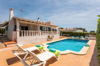 Villa Clara, Binibeca, Menorca, Spain