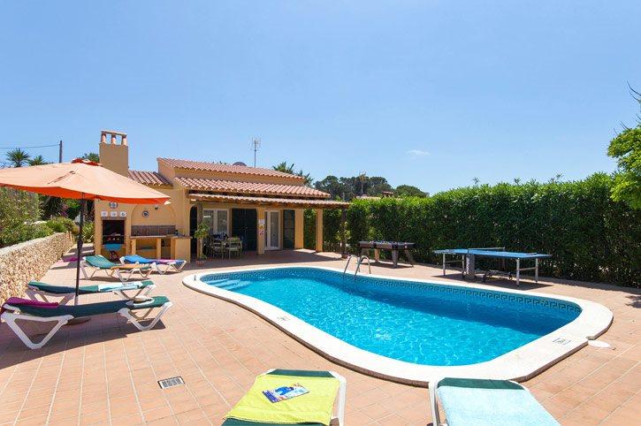 Villa Daniel, Calan Porter, Menorca, Spain