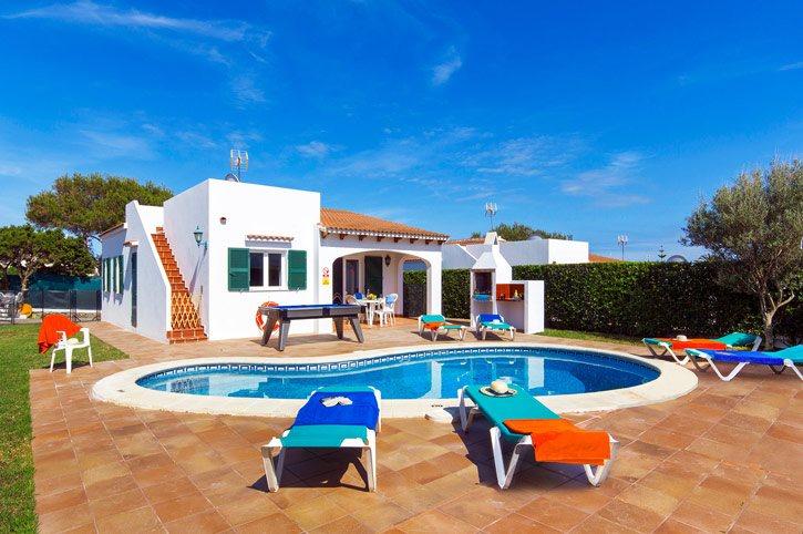 Villa Dolfi, Calan Forcat, Menorca, Spain