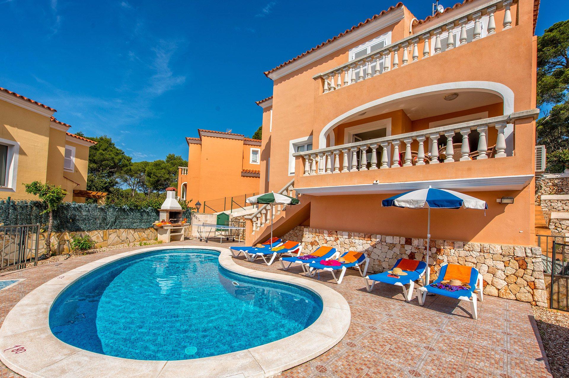 Villa Dolores, Cala Galdana, Menorca, Spain