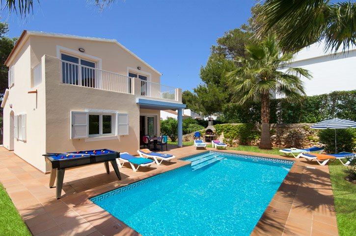 Villa Dora Blanca, Cala Blanca, Menorca, Spain