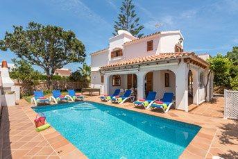 Villa Elena Mar, Calan Blanes, Menorca, Spain