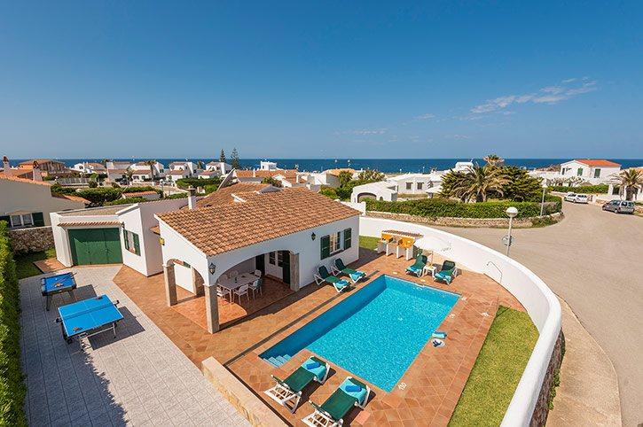 Villa Enrich, Calan Bosch, Menorca, Spain