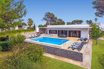 Villa Es Pins, Cala Blanca, Menorca, Spain