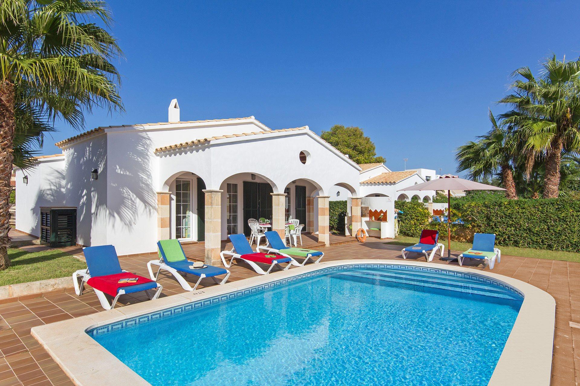 Villa Estornell, Calan Blanes, Menorca, Spain