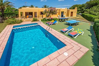 Villa Faro, Calan Bosch, Menorca, Spain