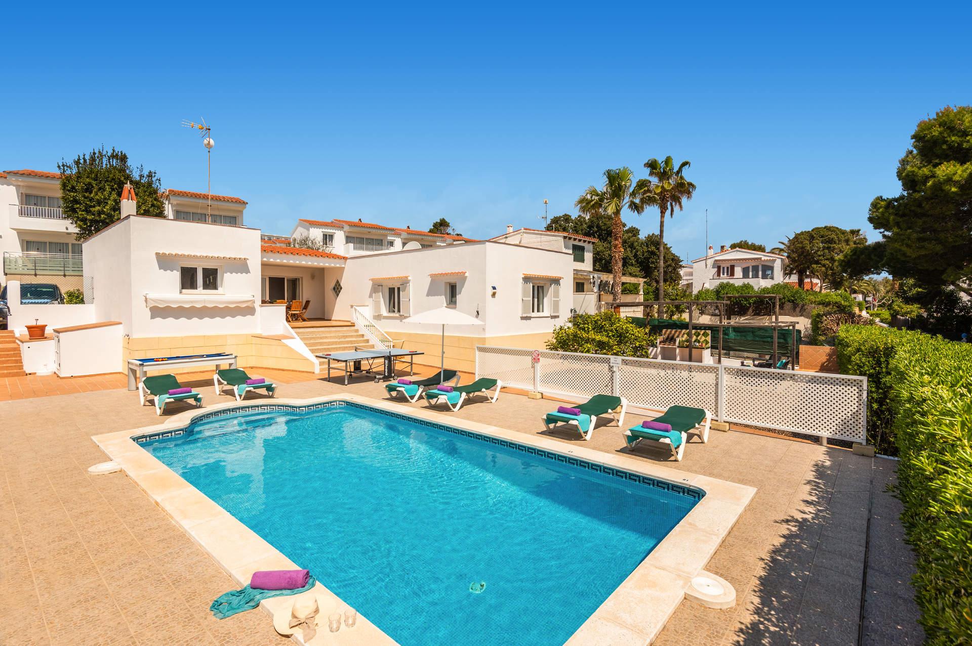 Villa Fernando, S'Algar, Menorca, Spain