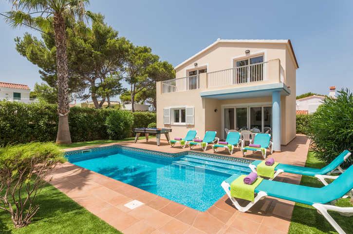 Villa Fina Blanca, Cala Blanca, Menorca, Spain