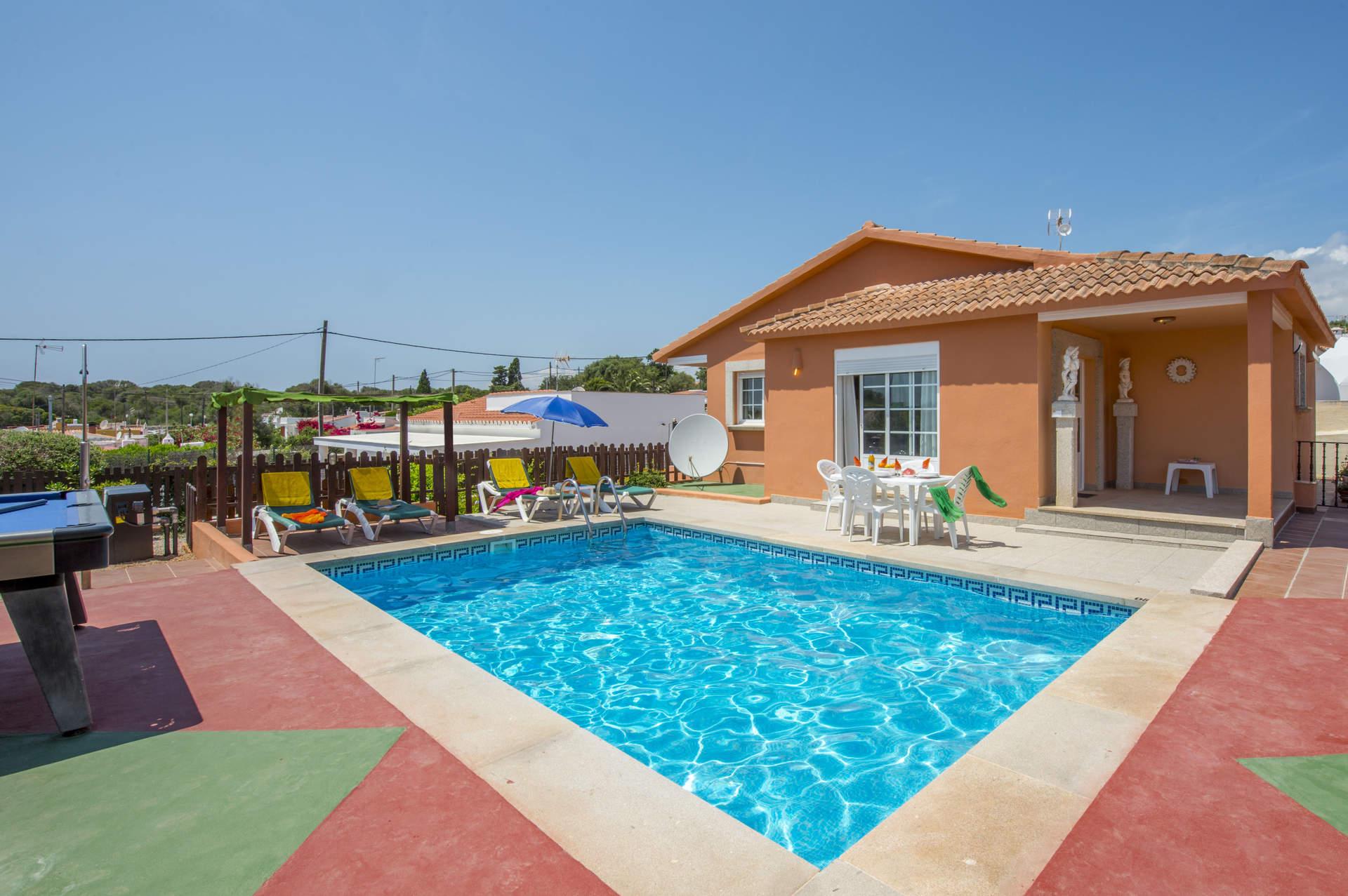 Villa Flor De Lis, Calan Porter, Menorca, Spain