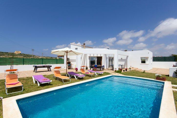 Villa Fresa, Calan Blanes, Menorca, Spain