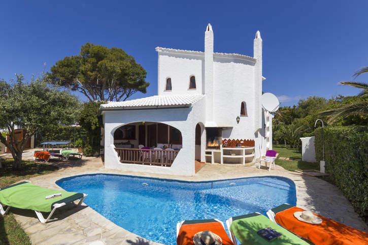 Villa Gerard, Cala Blanca, Menorca, Spain