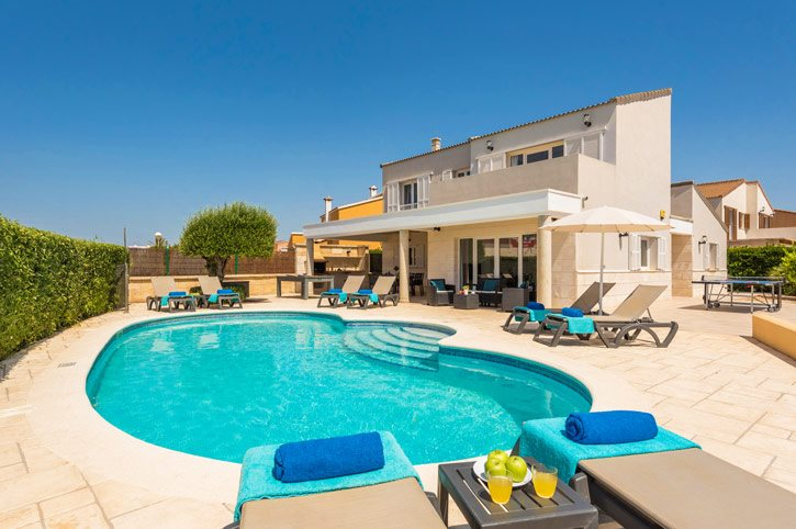 Villa Gris, Calan Forcat, Menorca, Spain