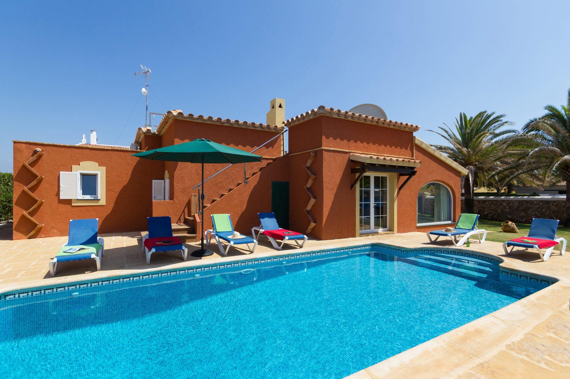 Villa Hegoalde, Calan Blanes, Menorca, Spain