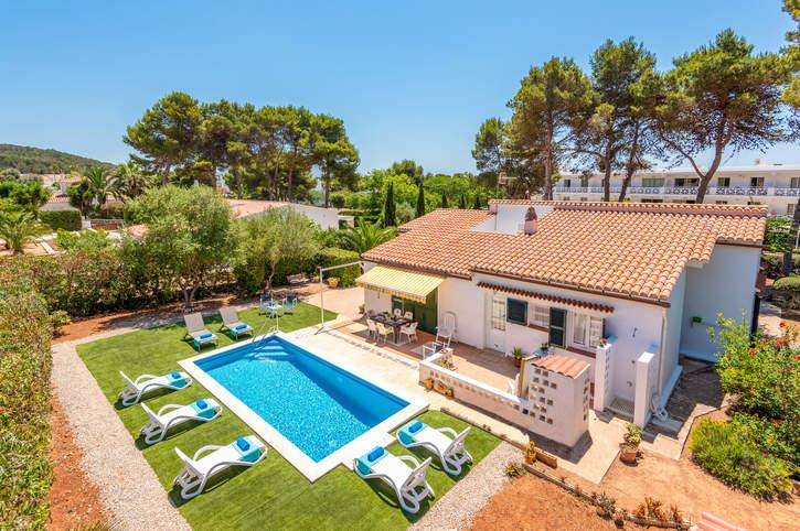 Villa Hibiscus Tomas, Santo Tomas, Menorca, Spain