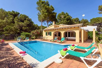 Villa Honeysuckle, Son Parc, Menorca, Spain