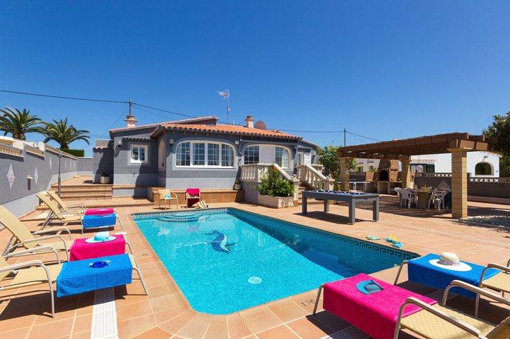 Villa Ingrid, Calan Porter, Menorca, Spain