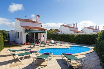 Villa Janis, Calan Bosch, Menorca, Spain