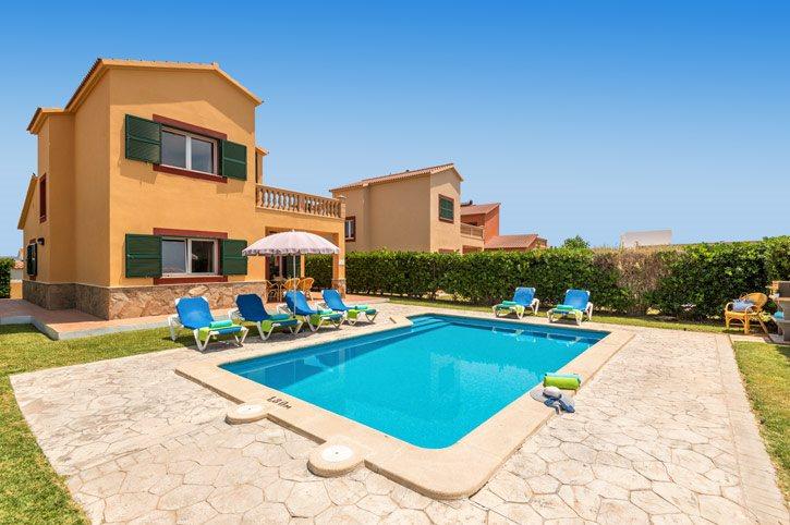 Villa Jardin Del Mar In Calan Forcat Menorca Villa Plus