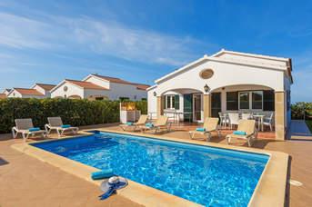 Villa Juana, Calan Bosch, Menorca, Spain