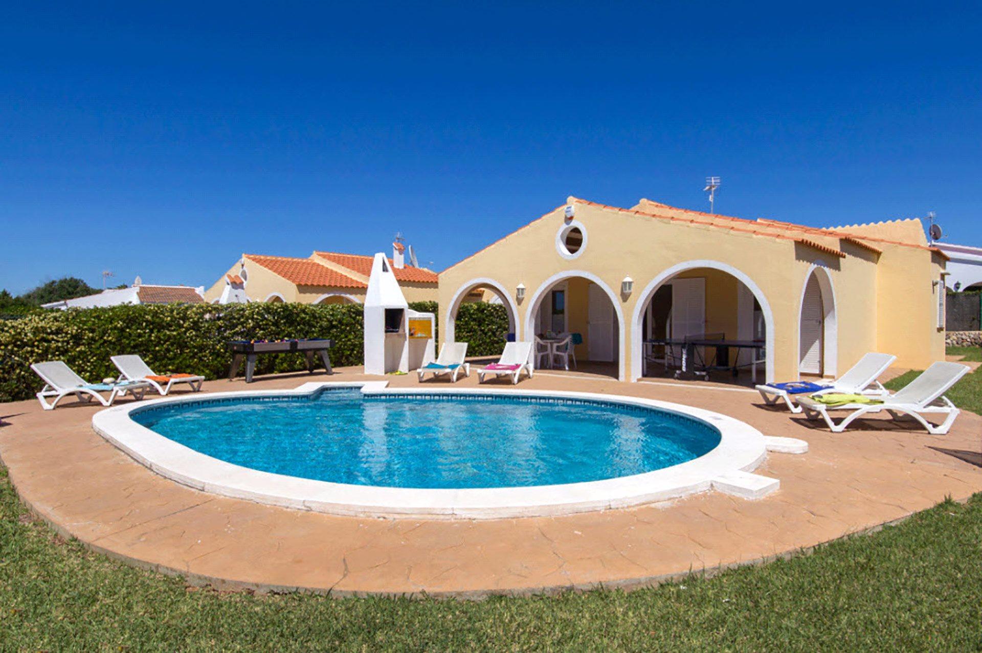 Villa Jupiter, Calan Bosch, Menorca, Spain