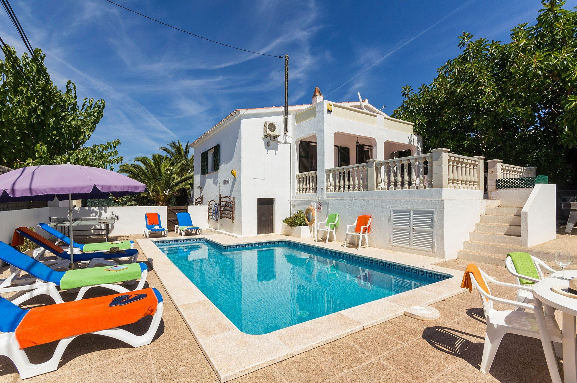 Villa Karenessa, Calan Porter, Menorca, Spain