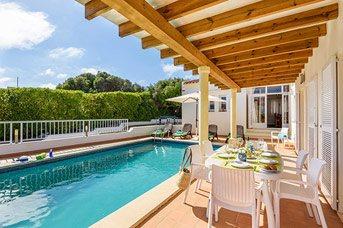 Villa Las Rosas, S'Algar, Menorca, Spain