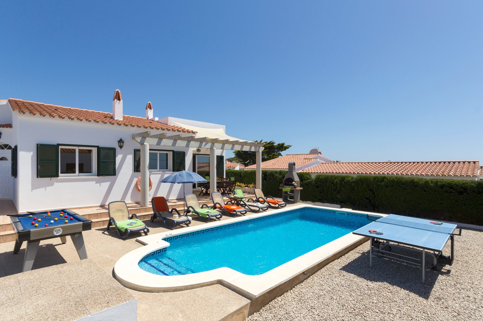 Villa Leander, Calan Porter, Menorca, Spain