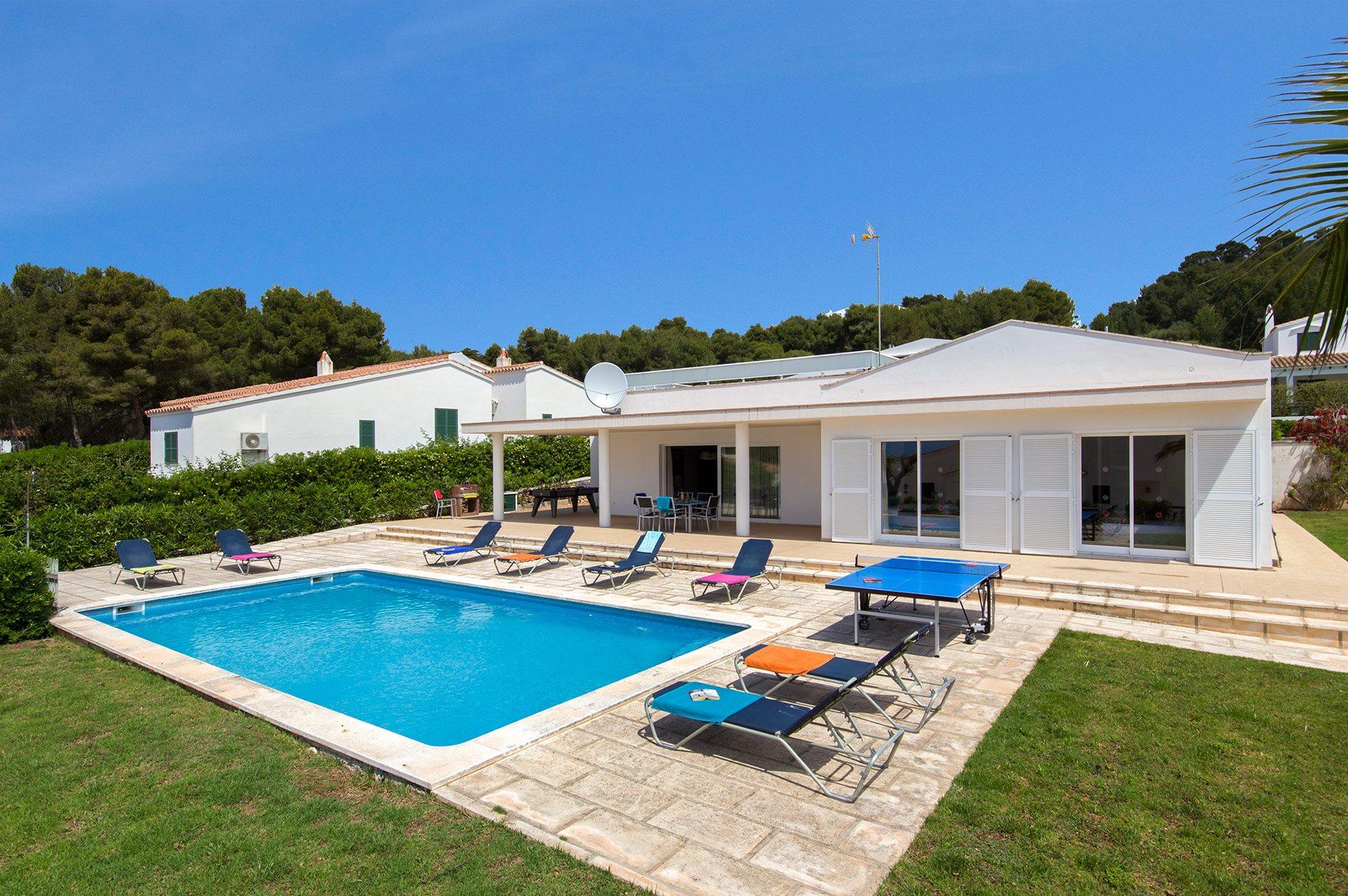 Villa Lola Tomas, Santo Tomas, Menorca, Spain