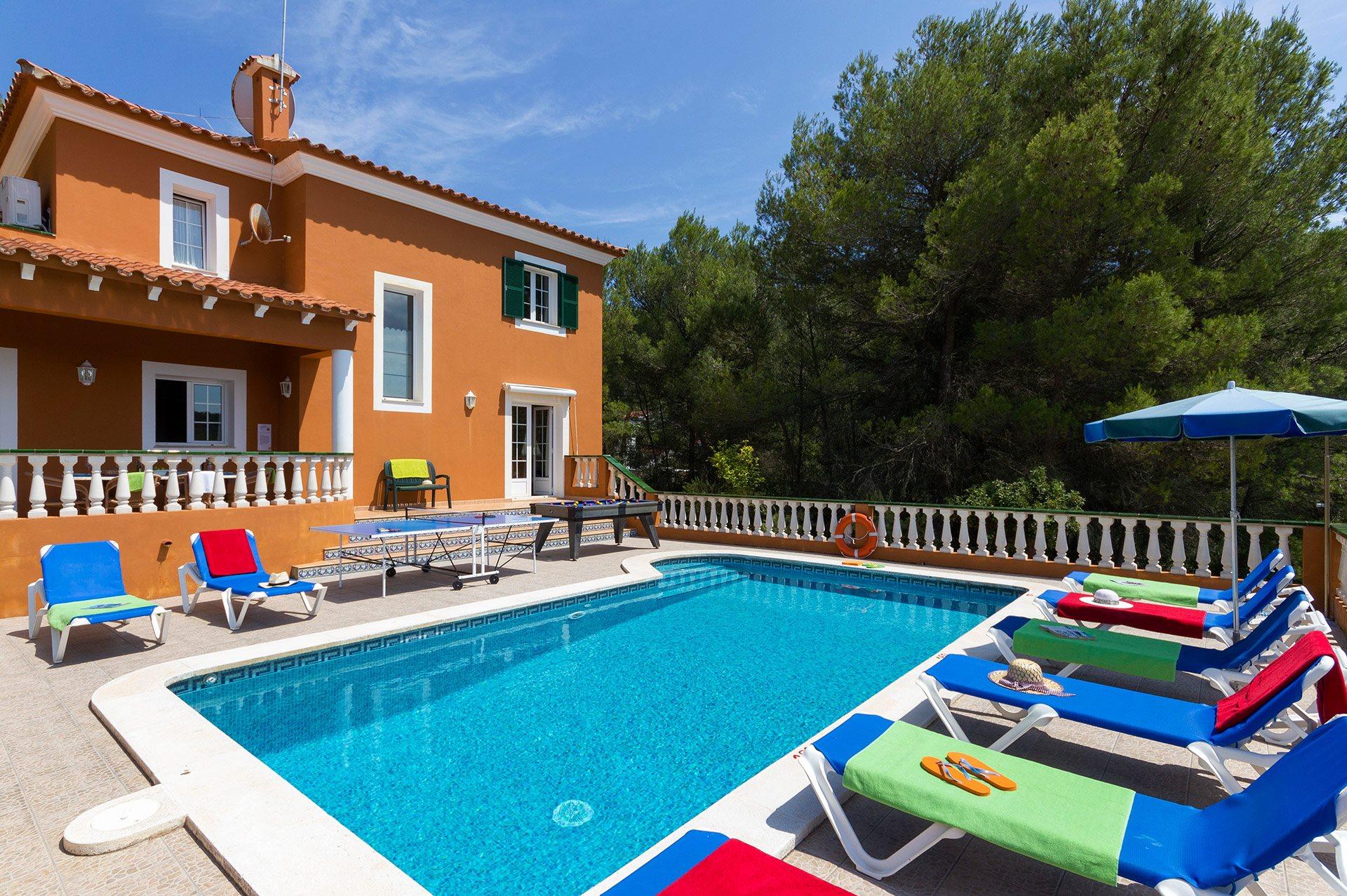 Villa Manuel, Son Parc, Menorca, Spain
