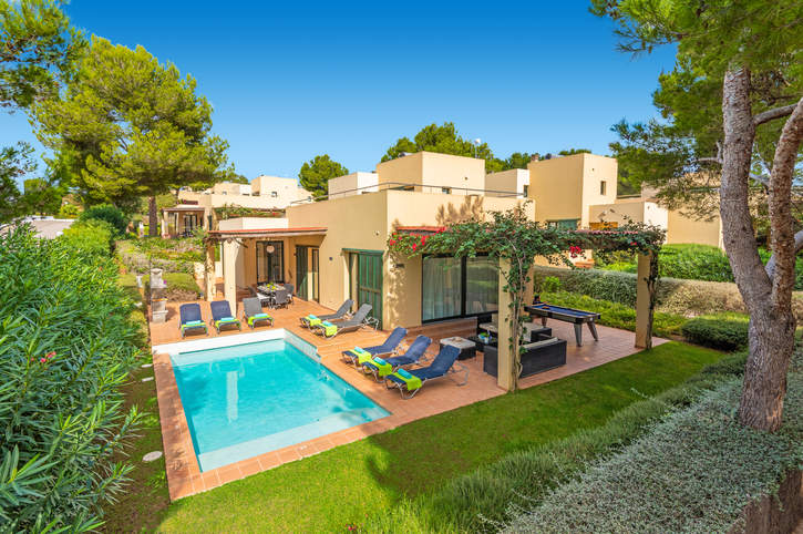 Villa Marco, Cala Galdana, Menorca, Spain