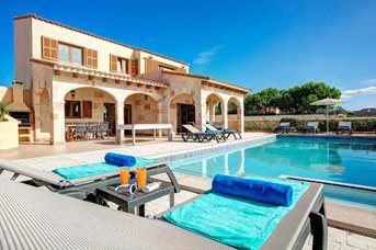 Villa Mares, Calan Forcat, Menorca, Spain