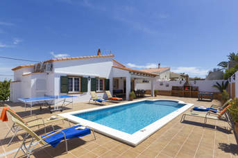 Villa Maria Del Mar, Calan Porter, Menorca, Spain