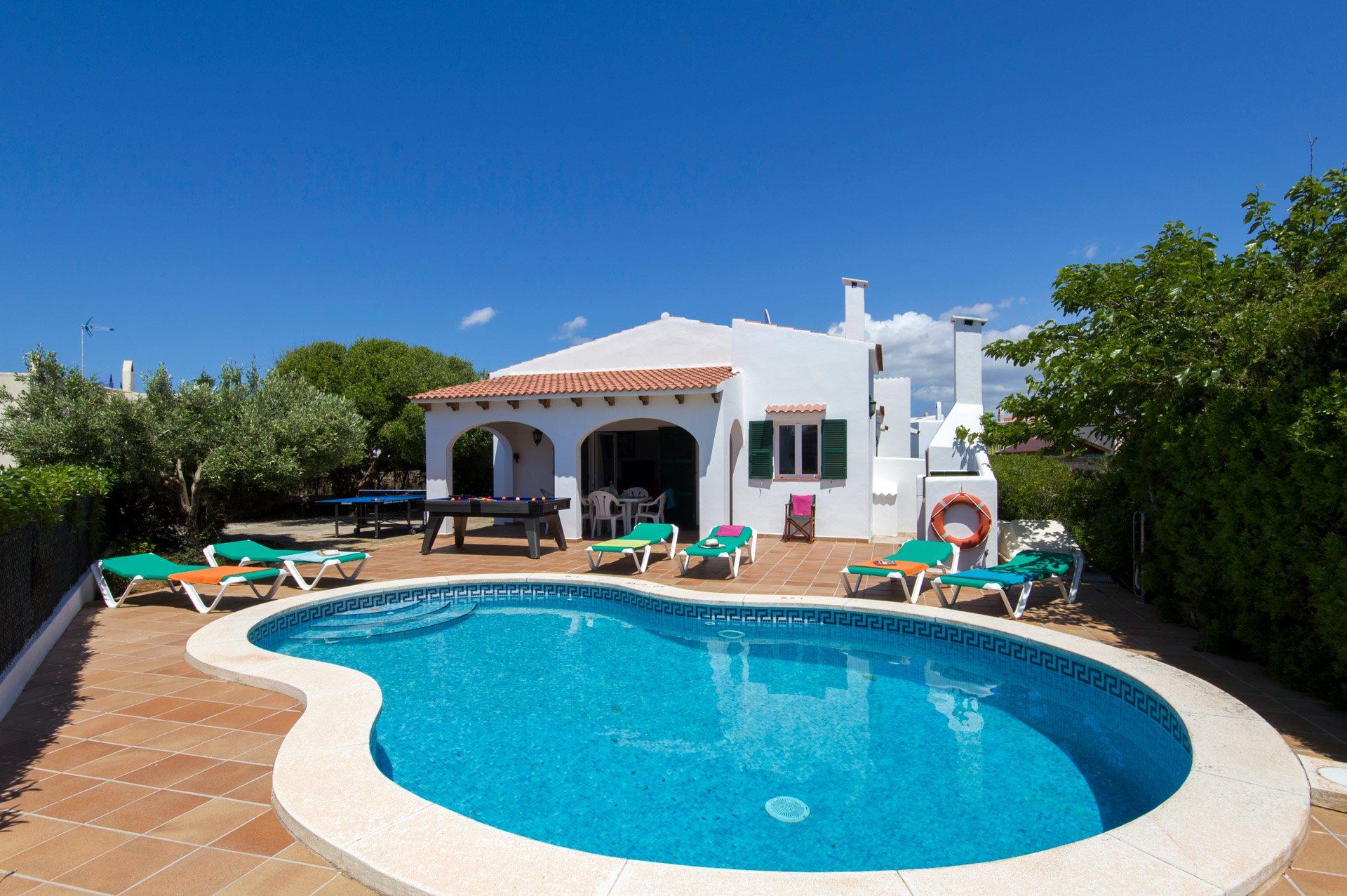 Villa Maria Forcat, Calan Forcat, Menorca, Spain