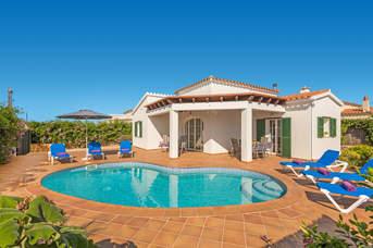 Villa Mariona, Calan Porter, Menorca, Spain