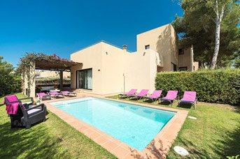 Villa Marita, Cala Galdana, Menorca, Spain