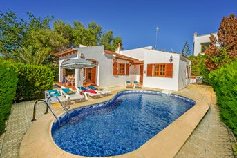 Villa Marta, Cala Blanca, Menorca, Spain