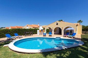 Villa Marte, Calan Bosch, Menorca, Spain