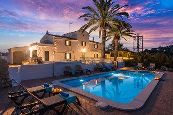 Villa Mas Alta, Cala Galdana, Menorca, Spain