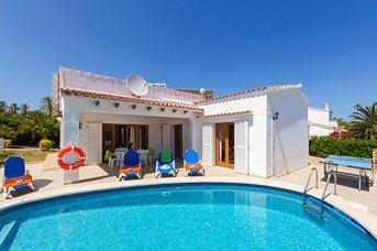 Villa Mencia, S'Algar, Menorca, Spain