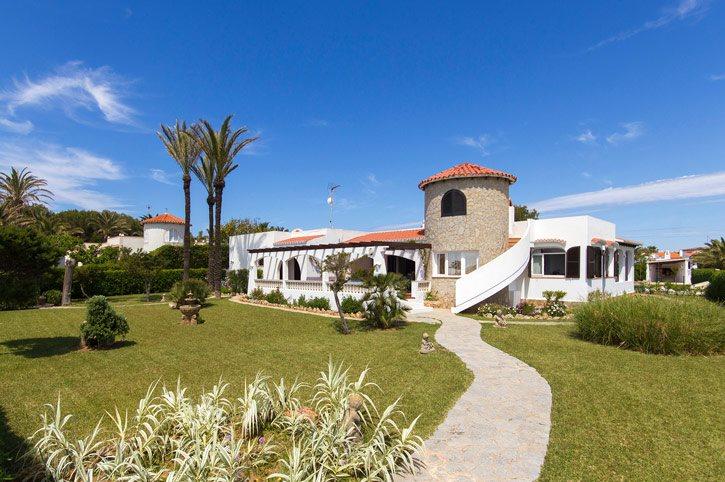 Villa Mercedes, Calan Forcat, Menorca, Spain