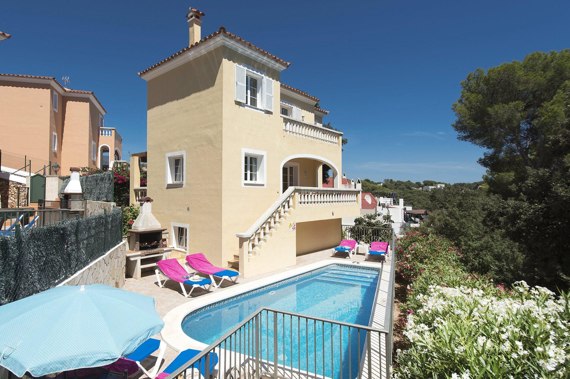 Villa Miel, Cala Galdana, Menorca, Spain