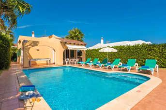 Villa Mikel, Calan Bosch, Menorca, Spain