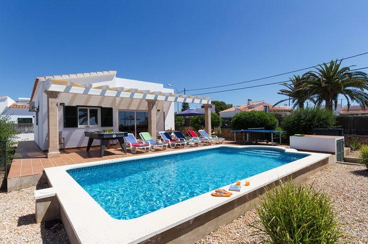 Villa Mio, Calan Porter, Menorca, Spain