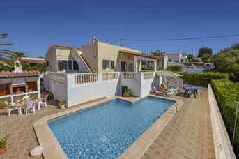 Villa Mirador, Calan Porter, Menorca, Spain